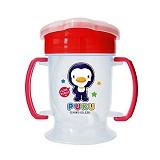 PUKU Training Cup Drinking 180cc 8 bln [P14714-P] - Pink - Perlengkapan Makan dan Minum Bayi